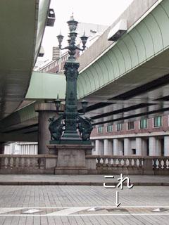 日本橋の中央部