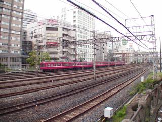 国鉄神奈川駅跡地付近