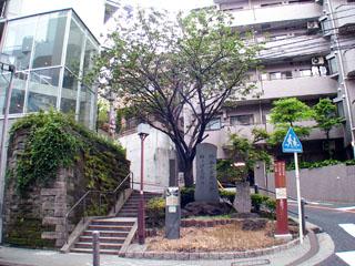 神奈川台関門跡の碑