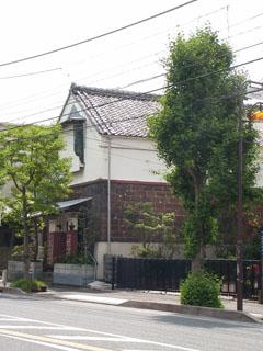 旧東海道藤沢宿内の古い建物