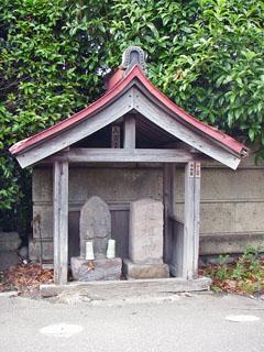 茅ヶ崎の出口の道祖神