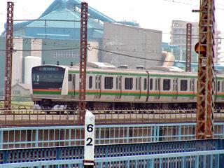 東海道本線62kmポスト