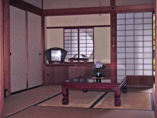 鴫立庵の座敷