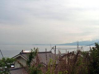車坂から見える海