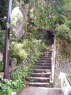 橿木坂の入り口