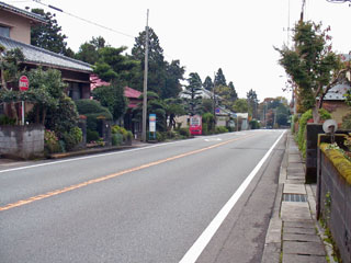 山中新田の集落