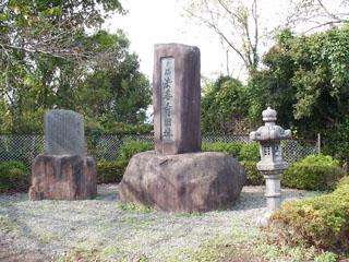 法善寺旧跡碑