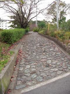 石畳風遊歩道