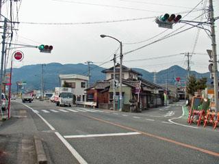 旧東海道分岐点